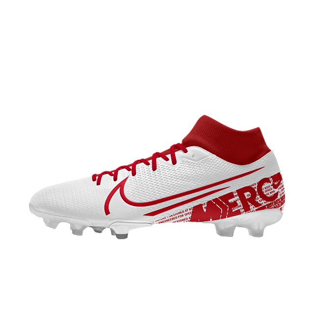 new york 0e54a 83f72 Nike Mercurial Superfly 7 Academy By You Custom Soccer Cleat